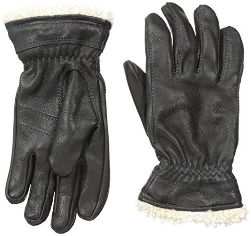 HESTRA Deerskin Primaloft Gants Femme, Black Taille de Gant 7 2019 Gants Protection