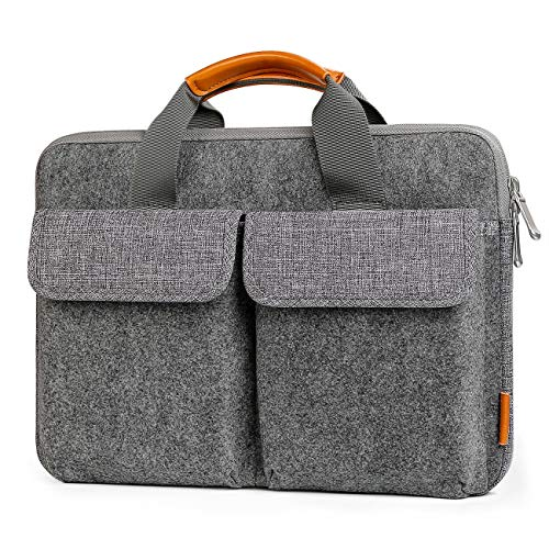 Inateck Laptoptasche Hülle Aktentasche Kompatibel 13 MacBook Air/Pro 2020-2012/Surface Pro X/7/6/5/4/3/13,5 Zoll Surface Laptop 3/2/2017/Surface Book/XPS 13