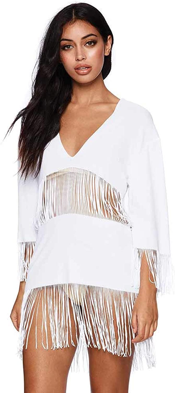 Beach Bunny White Indian Summer Tunic