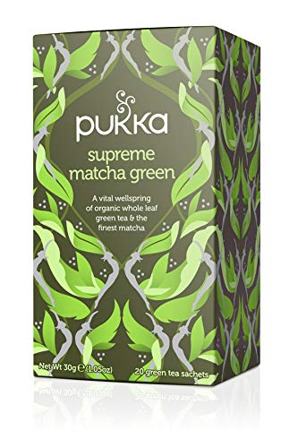 Pukka Supreme Matcha Green Tè, Confezione da 20 Filtri
