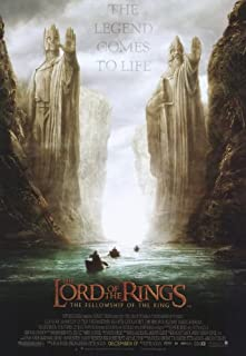 Lord of the Rings 1: The Fellowship of the Ring - Movie Poster - 11 x 17 Unframed 189533