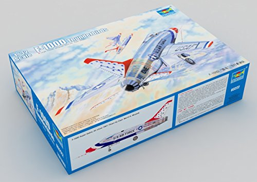 Trumpeter 1 : 32 – F-100d Super Sabre Thunderbirds
