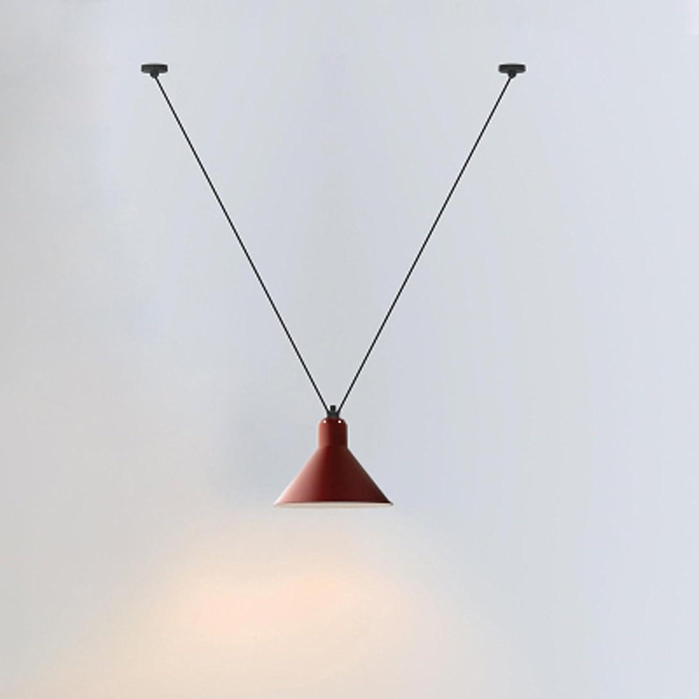 Kreative Persnlichkeit DIY Einstellbare Eisen Kunst Kronleuchter Wohnzimmer Schlafzimmer Lange Linie Deckenleuchte Einfache Moderne Single Head Thema Pendelleuchte (Farbe   schwarz 3)