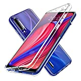 LXHGrowH Funda para Xiaomi Redmi Note 7 - Carcasa Completa Anti-Shock [360°] Full Body Protección [Silicona TPU Frente] y [Duro PC Back] para Xiaomi Redmi Note 7 - Cover Doble [Transparente]