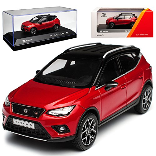 Seat Arona SUV Desire Rot Ab 2017 1/43 Modell Auto