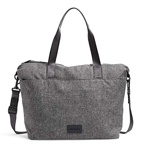 Vera Bradley Women's Recycled Lighten Up ReActive Tote Totes, Gray Heather, One Size