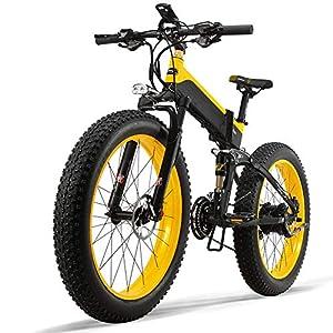 Dušial Elektro Fahrrad 500 Watt 48 V e-Bike Pedelec Faltbares Elektrofahrrad Elektrisches Fahrrad Damen Herren Mountain E-Bike für Erwachsene