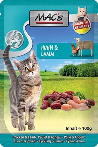 Mac's Katzenfutter getreidefrei Huhn & Lamm, 100 g