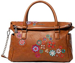 Luxury Fashion | Desigual Womens 19WAXPDEBROWN Brown Handbag | Fall Winter 19