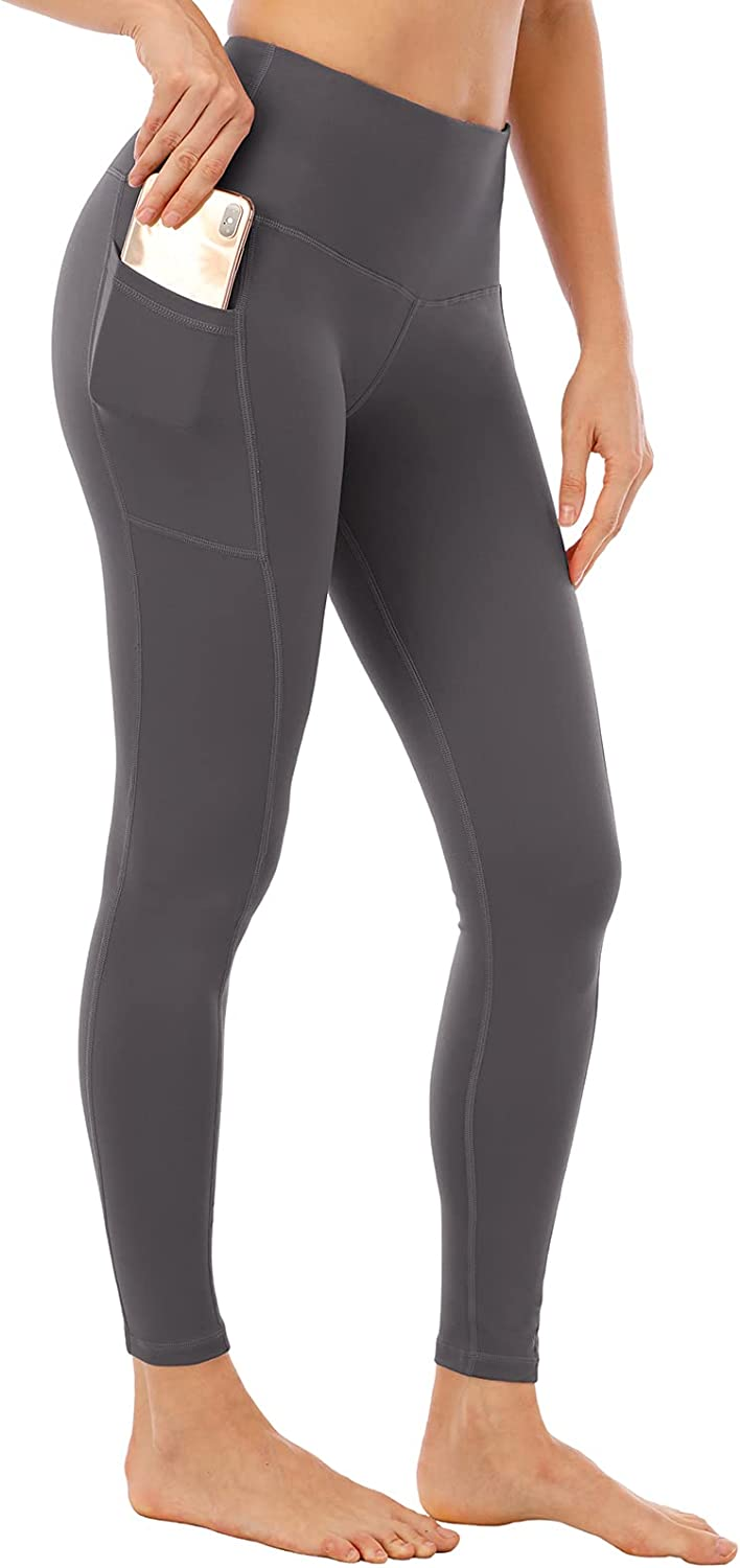 NORMOV Womens Leggings with Pocket Control Tummy High Work Max 77% OFF Waist Spasm price