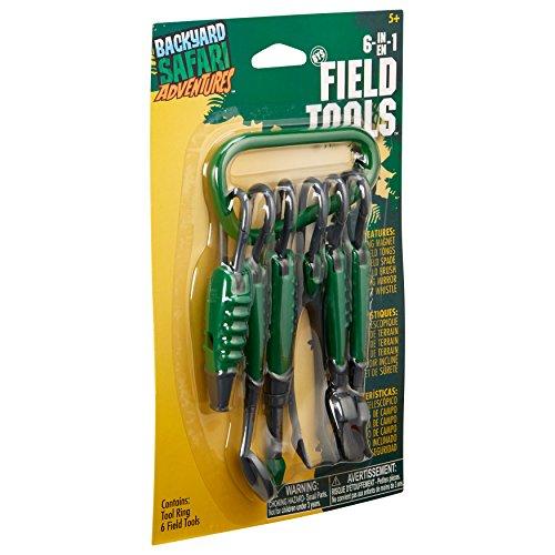 Backyard Safari 0T2408806TL 6-in-1 Field Tools (-) 6-in-1, Green