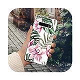 MEILLEUR Coque pour Galaxy M31,Coque Souple Rétro Fleur pour Samsung Galaxy M31 M21 M30S J8 J6 J4...
