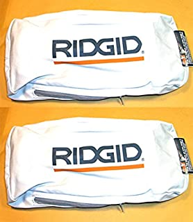 Ridgid R2720 Belt Sander Replacement Dust Bag Assembly (2 Pack) # 300027054