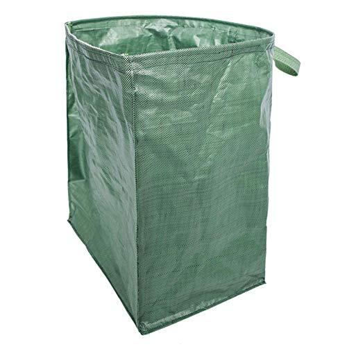 EElabper Heavy Duty Jardín Refuse Bolsa De Residuos De Basuras Basura Hierba Saco Impermeable Reutilizable Gran Saco Segura Movimiento De Altas Prestaciones para Césped Aire Libre Los Desechos Verdes