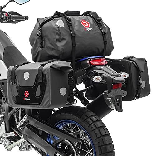 Borse laterali set Compatibile con Moto Guzzi Norge 1200/850 RX40 posteriore