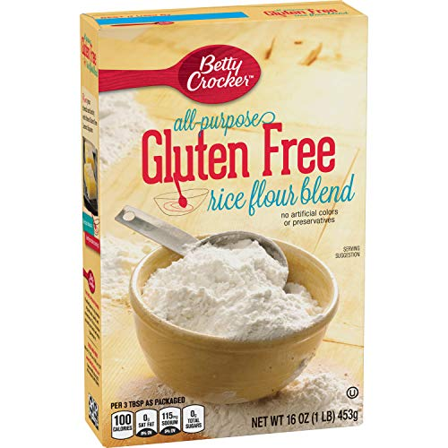 Gold Medal Gluten Free Rice Flour Blend, 16 oz (Pack of 6)