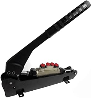 MDYHJDHYQ Hydraulic Handbrake Tandem Car Handbrake Alloy Hand Brake Lever 4 Line Split Diagonal Car Modificatio