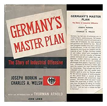 Hardcover Germany's Master Plan: The Story of the Industrial Offensive Book