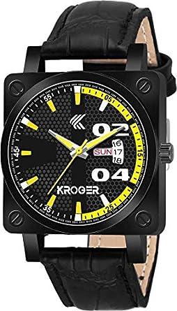 KROGER Analogue Black Dial Boy's & Men's Watch KRG1147