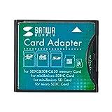 サンワサプライ SDXC用CF変換アダプタ ADR-SDCF2 1個