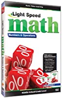 Light Speed Math: Numbers & Operations [DVD] [Import]