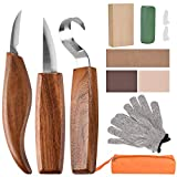Wood Carving Tools, 11 in 1 Wood Carving Kit with...
