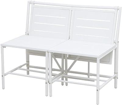 Amazon.de: Videx 16001 Balkonklapptisch 60x80cm weiß