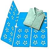 Clothes Folding Board T Shirts Clothes Folder Adult Size Multifunctional Organizer Plastic Laundry Folders Blue