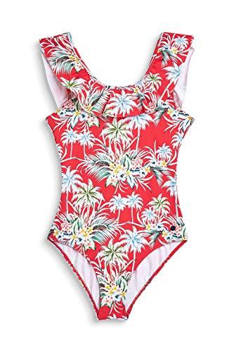 ESPRIT meisjes Kilda Beach Yg Swimsuit Ruffle Badpak