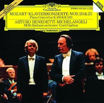 Mozart: Piano Concertos Nos. 20 & 25
