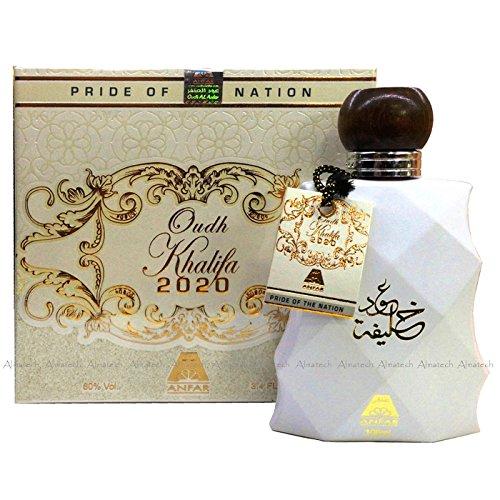 100ml Oud Khalifa weiß Arabian Parfüm Designer Spray Duft
