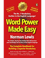 Word Power Made Easy paperback Fully Revised & Expanded, complete handbook for superior vocabulary by Norman Lewis, must read original and authorised Penguin edition for competitive exam preparation