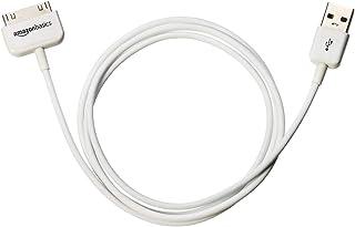 AmazonBasics - Cable certificado por Apple de 30 pines a USB para Apple iPhone 4, iPod, iPad 3ª generación, 97,2 cm