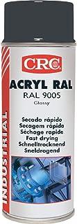 CRC - Pintura Acrílica De Secado Rápido Acryl Ral 9005 Negro Mate 400Ml