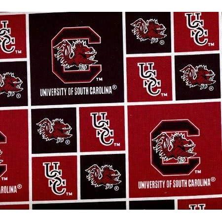 University of South Carolina Fat Quarter-NCAA Collegiate 100% Cotton Fabric-SC020