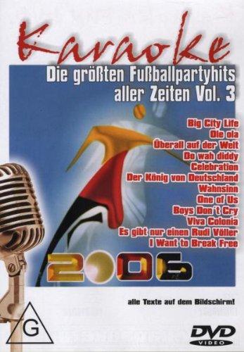 Karaoke - Die größten Fußballpartyhits...Vol. 3