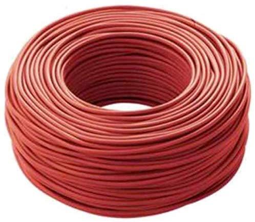 Cavo Icel Elettrico Unipolare Isolante FS17 per impianti casa aziende edili matassa da 100 metri (1,5 mm, Rosso) (100 METRI) - -KHMA-T68F