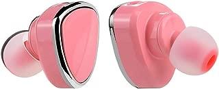 GLJJQMY Wireless Bluetooth Headset 4.1 Car Phone Earbuds Single Side Mini Bluetooth Headset Bluetooth Earphone (Color : Pink)