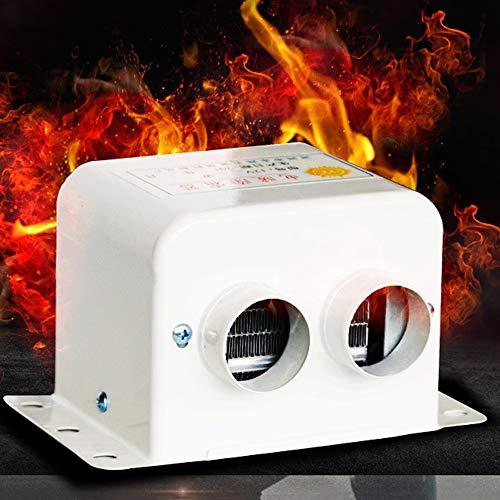 QWERTOUY Auto-verwarming 12V 500W / 24V 800W luchtverwarmer parkeerplaats verwarmingsverwarmer fan defroster auto inccessree, 24V800W