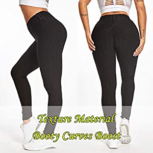 JGS1996 Women's High Waist Yoga Pants Tummy Control Slimming Booty Leggings Workout Running Butt Lift Tights