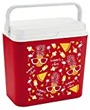 <span class='highlight'><span class='highlight'>Rammento</span></span> Large Cooler Ice Box Insulated Freezer Cool Box 8 Hours 24 Litre Cooler Box (Red)