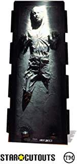 Official Star Cutouts Star Wars Han Solo Carbonite The Empire Strikes Back Lifesize Cardboard Cutout