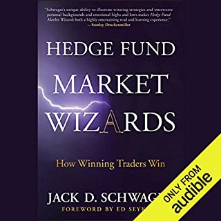 Hedge Fund Market Wizards audiobook cover art