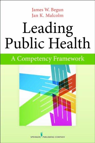 Leading Public Health: A Competency Framework