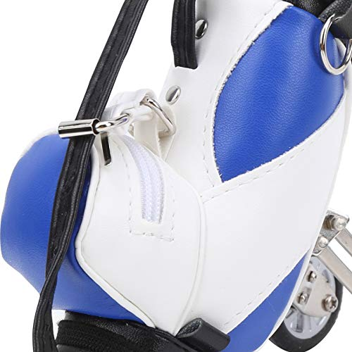 frenma Soporte para bolígrafo para Bolsa de Golf, Bolsa de Golf para Escritorio(Blue and White)