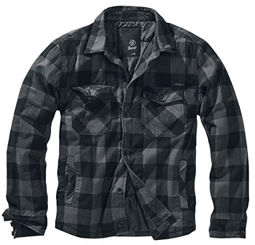 Brandit Luimberjacket, Black-Grey, Größe M