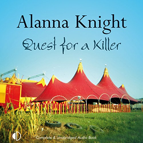 Quest for a Killer audiobook cover art