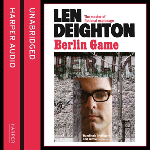 Berlin Game audiobook cover art