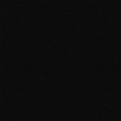 Tissu d'ameublement uni - Mesure: 100 cm longueur x 280 cm largeur | Noir ─ 1 mètre