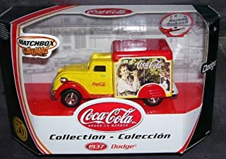 Matchbox Collectibles COCA COLA 1937 DODGE DELIVERY TRUCK NORMAN ROCKWELL Diecast